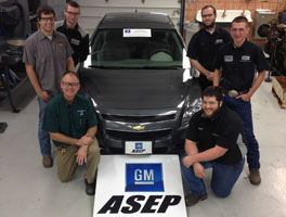 GM donates Chevy Malibu to SCC-Milford program