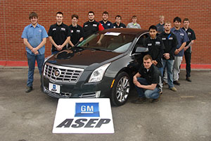 GM donates 2013 Cadillac to SCC automotive program